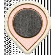 The Good Life - April 2020 Mini Kit - Wood Geo Tag 4