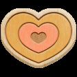 The Good Life - April 2020 Elements - Wood Heart 2