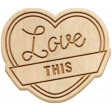 The Good Life - April 2020 Elements - Wood Love This 2