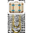 The Good Life: April 2020 Travel Elements Kit - clip suitcase