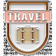 The Good Life: April 2020 Travel Elements Kit - enamel travel