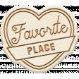 The Good Life: April 2020 Travel Elements Kit - wood favorite place