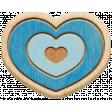 The Good Life: April 2020 Travel Elements Kit - wood heart 3