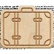 The Good Life: April 2020 Travel Elements Kit - wood suitcase