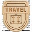 The Good Life: April 2020 Travel Elements Kit - wood travel