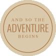The Good Life: April 2020 Travel Labels & Words Kit - label adventure begins