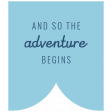 The Good Life: April 2020 Travel Labels & Words Kit - label adventure 2
