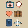 The Good Life: April 2020 Travel Pocket Cards Kit - Journal Card 2 4x4
