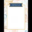 The Good Life: April 2020 Travel Pocket Cards Kit - Journal Card 10 3x4