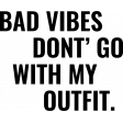 The Good Life: May 2020 Stamps Kit - Bad Vibes Don't Go With My Outfit Template