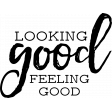 The Good Life: May 2020 Stamps Kit - looking good feeling good template