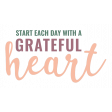 The Good Life - May 2020 Elements - Sticker Grateful Heart