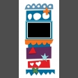Travelers Notebook Layout Templates Kit #9 -  template 9d