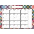 The Good Life: June 2020 Calendars Kit - 2 calendar 5x7 blank