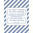 The Good Life - May 2020 Filler Card - Card 03 3x4
