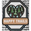 The Good Life - June 2020 Elements - Badge Happy Trails