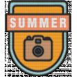 The Good Life - June 2020 Elements - Badge Summer