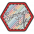 The Good Life - June 2020 Elements - Badge The Summer Life
