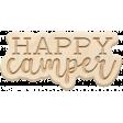 The Good Life - June 2020 Elements - Wood Happy Camper
