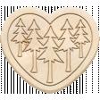The Good Life - June 2020 Elements - Wood Tree Heart