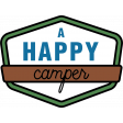The Good Life - June 2020 Labels & Words - A Happy Camper
