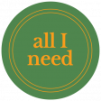 The Good Life - June 2020 Labels & Words - Label All I Need