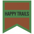 The Good Life - June 2020 Labels & Words - Label Happy Trails