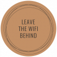 The Good Life - June 2020 Labels & Words - Label Leave The Wifi Behind