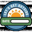 The Good Life - June 2020 Labels & Words - Let's Get Outside