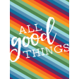 The Good Life - June 2020 Pocket Cards - Card 10 3x4