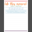 The Good Life - June 2020 Pocket Cards - Card 19 3x4