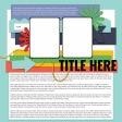 Layout Templates Kit #58 - Layout Template 58C