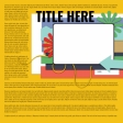 Layout Templates Kit #58 - Layout Template 58D