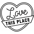 The Good Life - July 2020 Stamps #2 - Love This Place Template