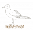 The Good Life - July 2020 Tags & Stickers - Print Sticker Seagull