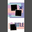 Travelers Notebook Layout Templates Kit #11 - Layout Template 11b