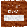 The Good Life: September 2020 Elements Kit word our great life