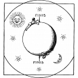 Vintage Images Kit - Samhain Stamps - stars moon sun template
