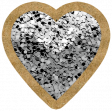 The Good Life - October 2020 Elements -  glitter heart 3