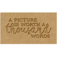 The Good Life - October 2020 Elements -  letterpress a thousand words