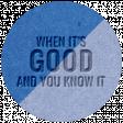 The Good Life - October 2020 Elements -  letterpress good 2