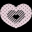 The Good Life - October 2020 Elements -  plastic heart 1