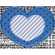 The Good Life - October 2020 Elements -  plastic heart 3