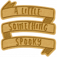 The Good Life - October 2020 Mini Kit -  letterpress something spooky