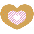 The Good Life - October 2020 Stickers & Tags Kit - heart 3