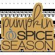 The Good Life - October 2020 Stickers & Tags Kit - pumpkin spice season