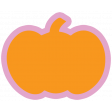 The Good Life - October 2020 Stickers & Tags Kit - pumpkin