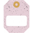 The Good Life - October 2020 Stickers & Tags Kit - tag 4 pink