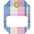 The Good Life - October 2020 Stickers & Tags Kit - tag 4 plaid