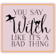 The Good Life - October 2020 Stickers & Tags Kit - witch 2